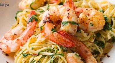 راز تهیه یک اسپاگتی میگوی خوشمزه