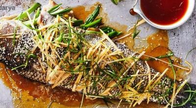 خوشمزه ترین روش برای تهیه ماهی بخارپز