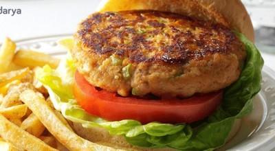 طرز تهیه برگر تن ماهی مخصوص