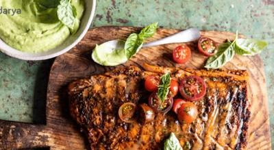 طرز تهیه ماهی تیلاپیا چیلی مخصوص با سس آووکادو