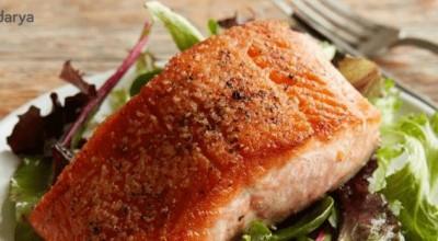 آسان ترین روش برای تهیه ماهی سالمون سرخ شده
