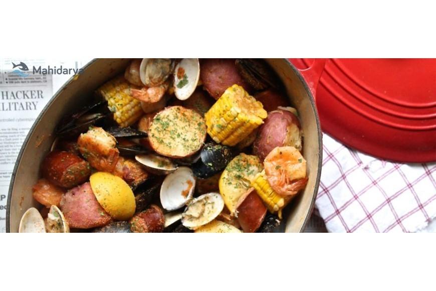 فوت و فن طرز تهیه میکس غذای دریایی ویژه