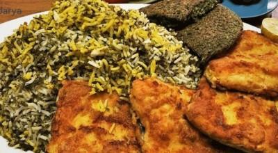 طرز تهیه سبزی پلو با ماهی سوخاری با چند نکته طلایی