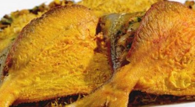 طرز پخت ماهی حلوا سفید شکم پر