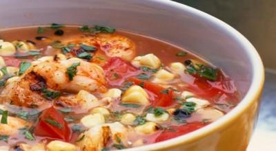طرز تهیه سوپ میگو خانگی