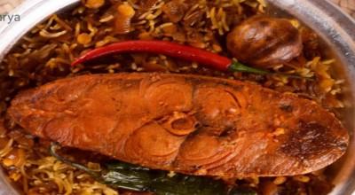 طرز تهیه مجبوس عربی(هواری) با ماهی شیر