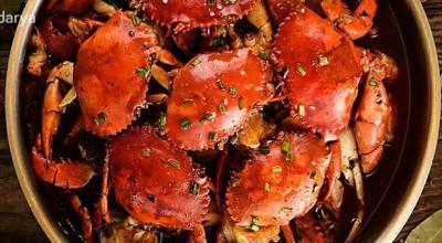 طرز تهیه خرچنگ به روش بخارپز